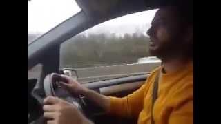 Ab To Bas Aik Hi Dhun Hai ke Madina Dekhon | Best way to Drive SubhaanAllah!! | WITH LYRICS!