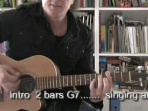 Robert Trainor Mystery train lesson 2 The chords - YouTube