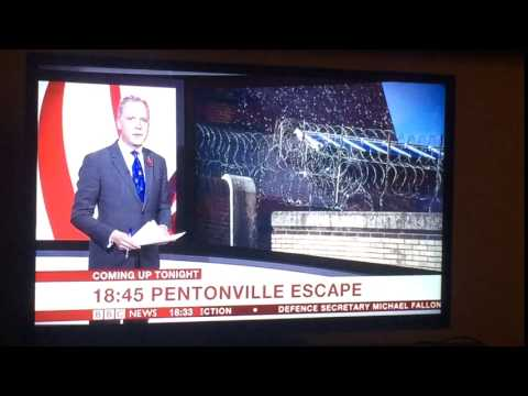 PRISONERS ESCAPE PENTONVILLE