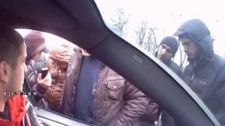 В Харькове забрали литовский автомобиль