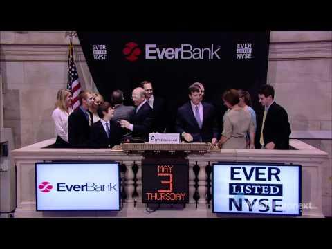 EverBank Financial Celebrates IPO
