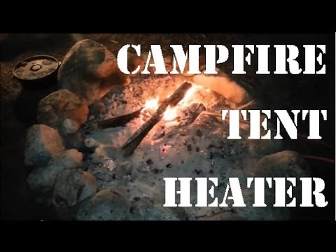 C&fire Tent / Vehicle SAFE Heater IN ACTION! & Campfire Tent / Vehicle SAFE Heater IN ACTION! - YouTube