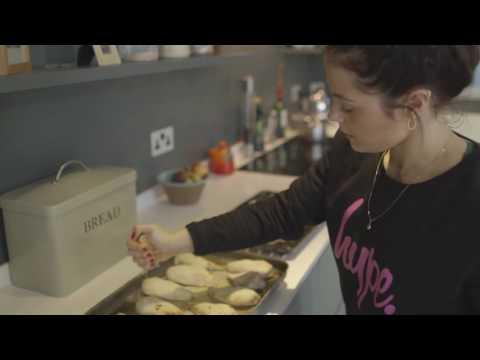 Megan Prescott: Dumbbells and Donuts  Vegetarian when growing up