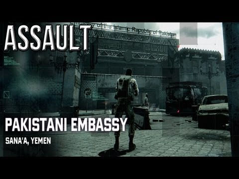 Splinter Cell Blacklist - Pakistani Embassy - Assault Perfectionist Solo Walkthrough