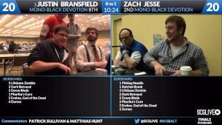 SCGBALT - Standard - Finals - Zach Jesse vs Justin Bransfield