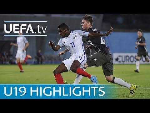 2017 U19 highlights: England 4-1 Germany