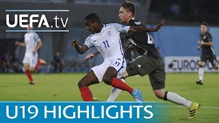 2017 U19 highlights: England 4-1 Germany