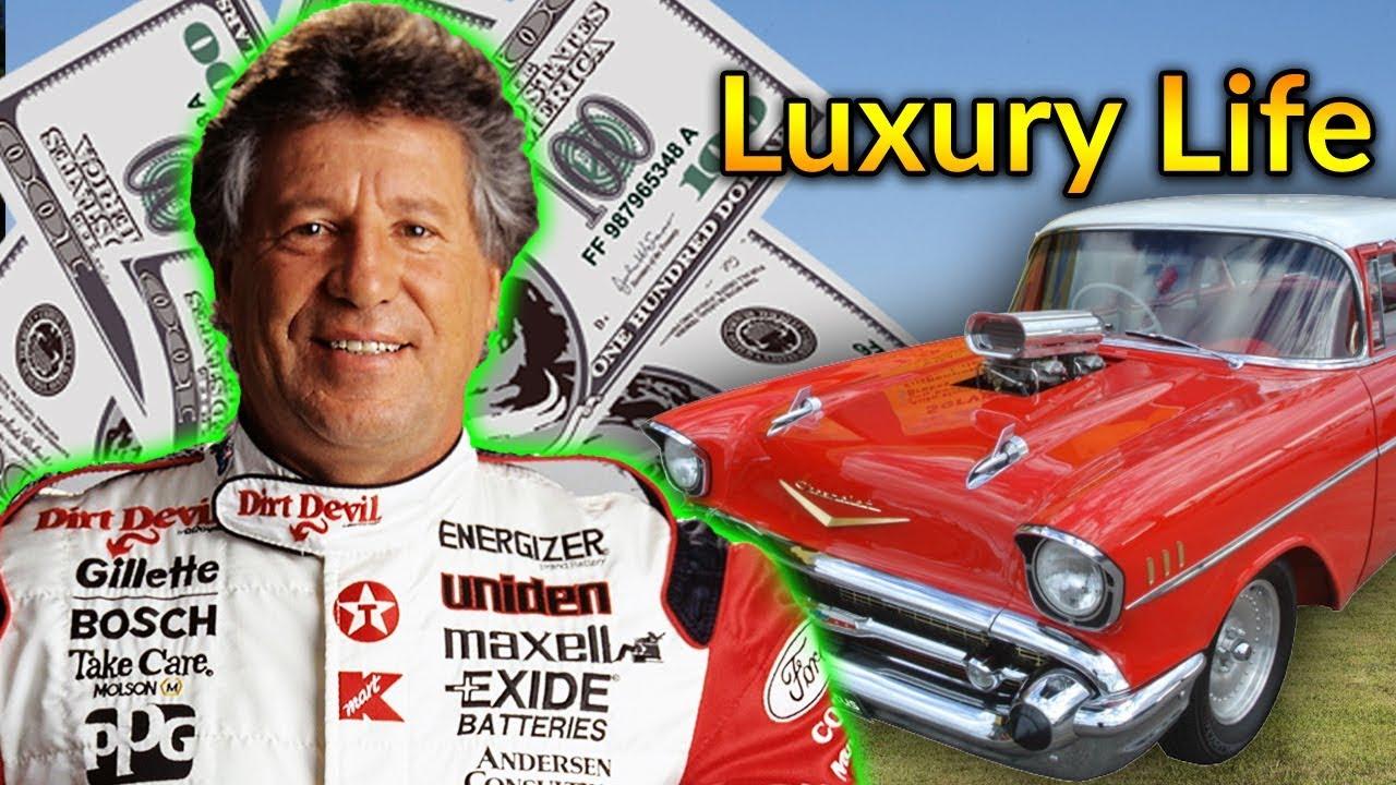 Mario Andretti Net Worth >> Mario Andretti Luxury Lifestyle Bio Family Net Worth Earning House Cars