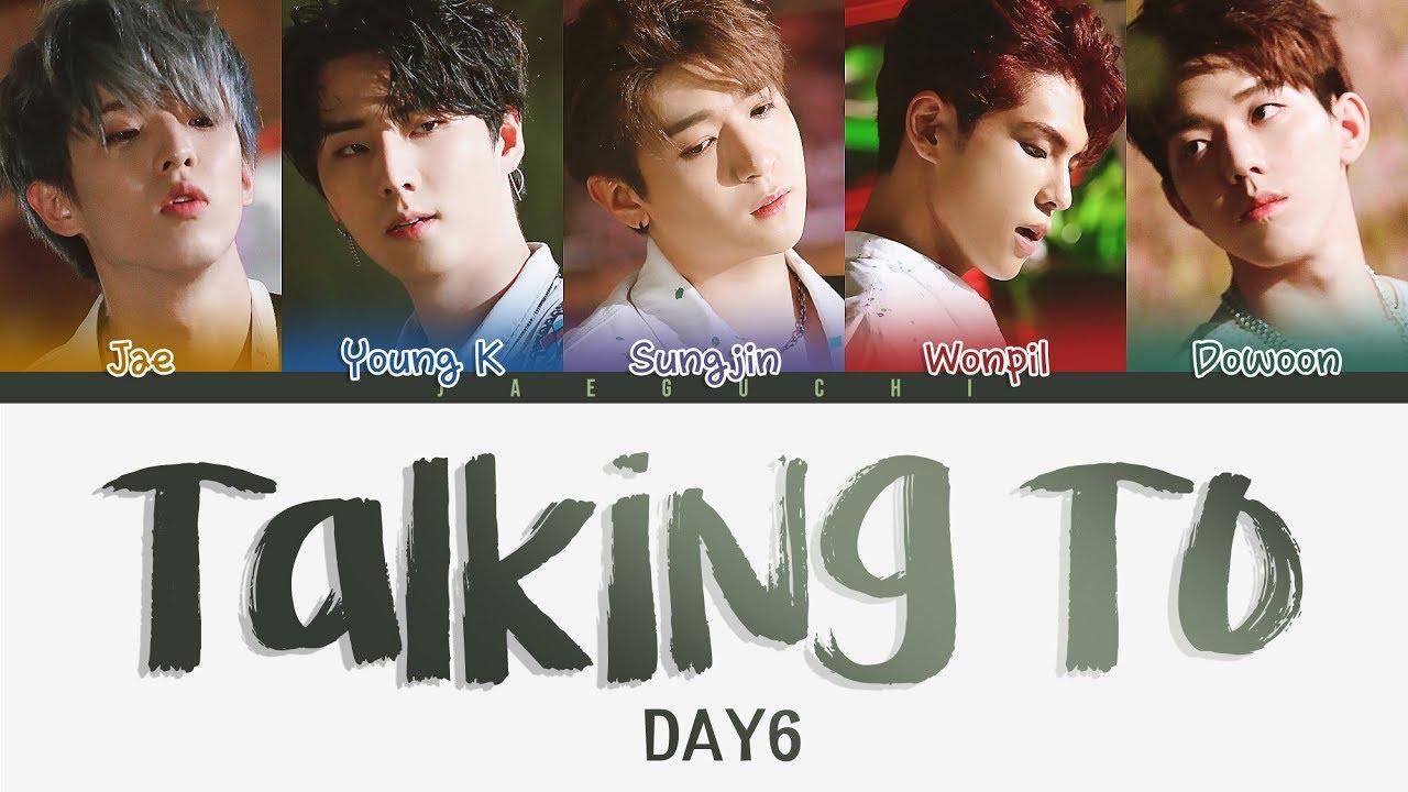 DAY6 (데이식스) - Talking To (혼잣말) (Color Coded Lyrics