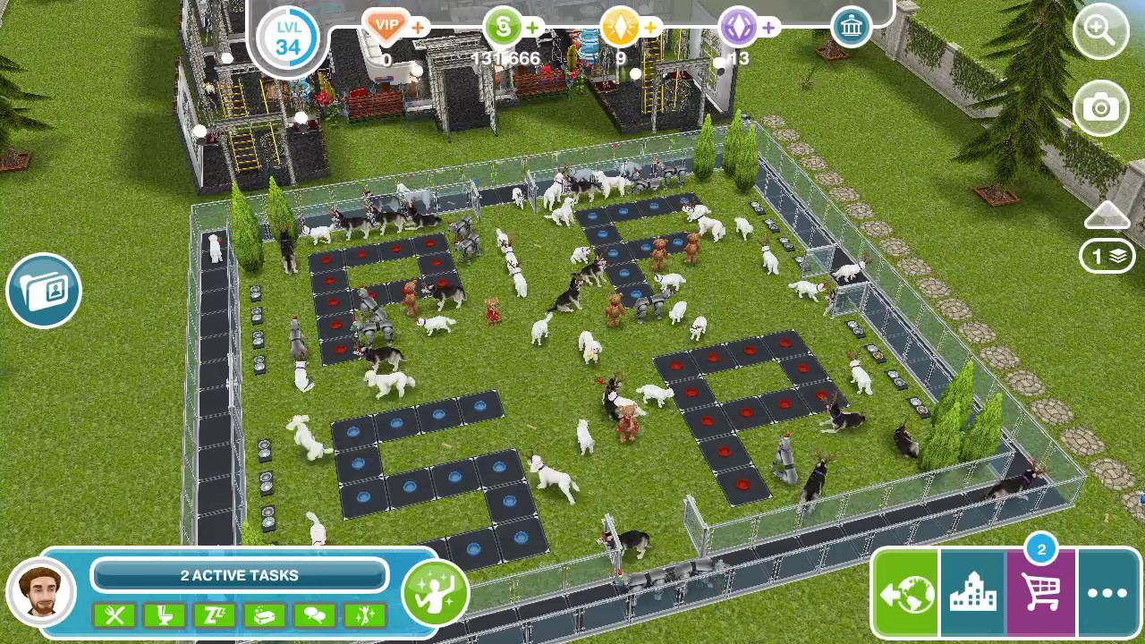 Sims Free Play Soccer In Neighbors Town