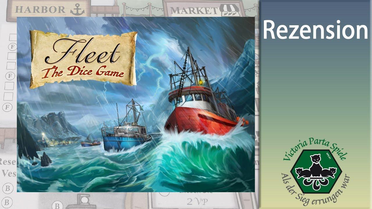 Fleet: The Dice Game Brettspiel Rezension / Eagle Gryphon Games