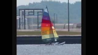 2012 Ludington, MI Hobie Catamaran Cartwheel
