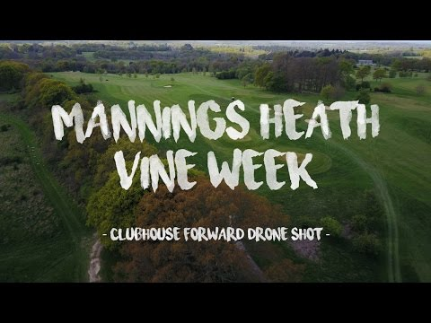 Mannings Heath First Vine: Clubhouse Forward Drone Shot