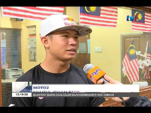 MOTO2 - SUPERKIP TEKAD BANGKIT PADA SAINGAN 2018 [27 DIS 2017]