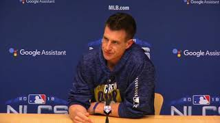 craig counsell nlcs presser about 10 10 counsell presser on fox sports wisconsin tv f7 sourceflv