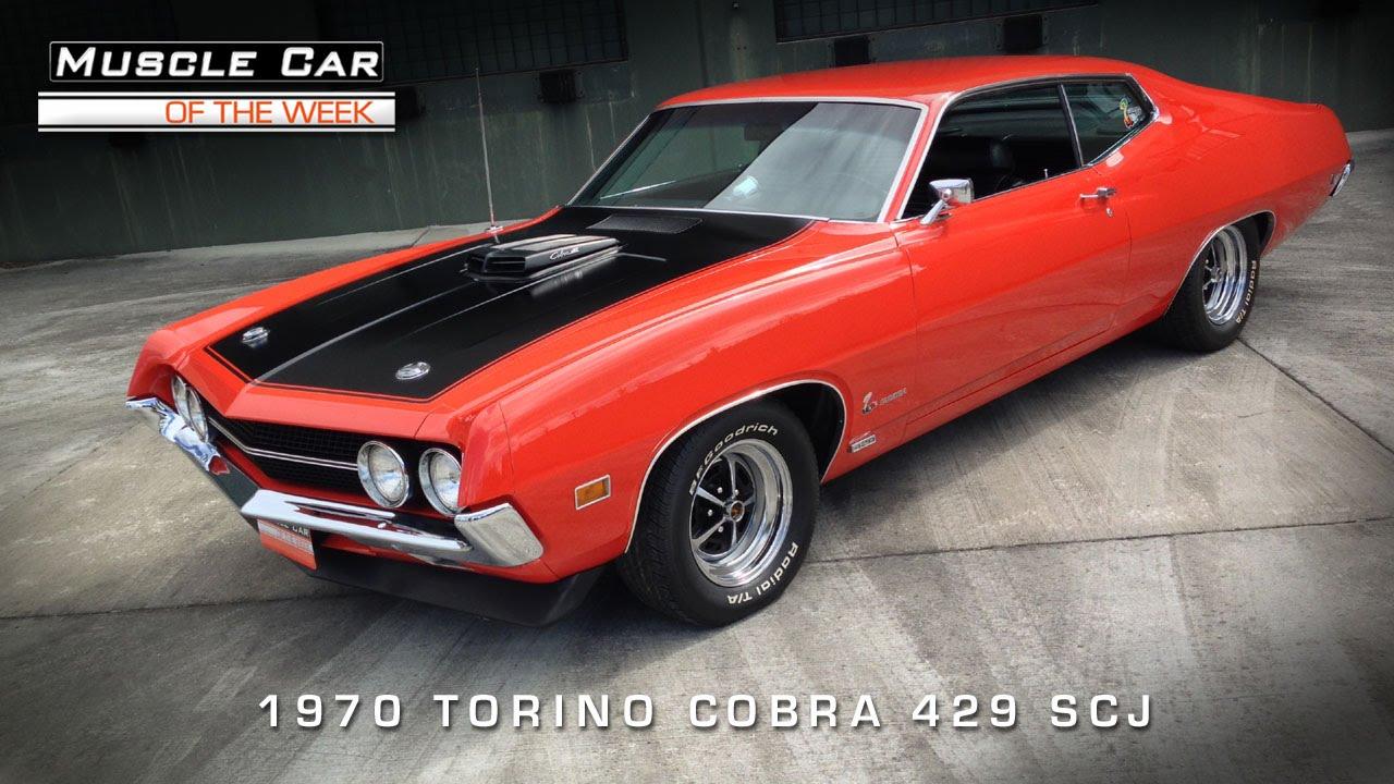 Muscle Car Of The Week Video 75 1970 Ford Torino Cobra 429 Scj