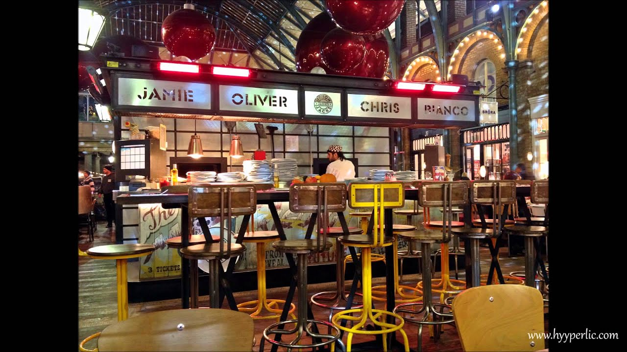 Union jacks restaurant by jamieoliver chris bianco for Cafe de jardin in covent garden