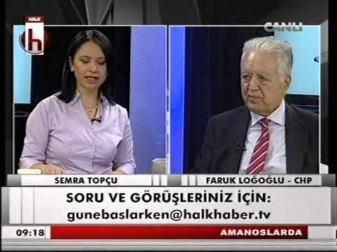 Faruk Loğoğlu / Reyhanlı saldırıları, Suriye politikası (14.04.2013)