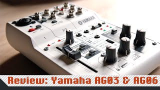Review: Yamaha AG03 & AG06 - USB-Mixer / Mischpult mit DSP [Deutsch]