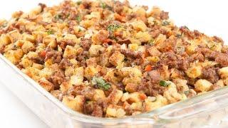 Kris' Kitchen - Johnsonville Savory Sausage Stuffing - 2014 Ep. 12