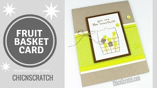 Fruit Basket Card