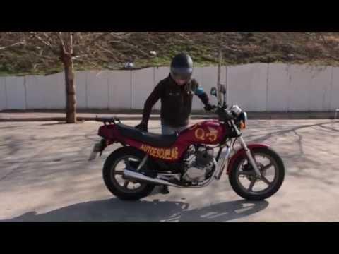 Examen de moto permiso A2