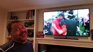 Tiger Woods emotional win at the Masters -13 under