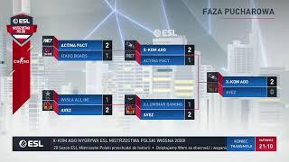 Wielki finał | ESL Mistrzostwa Polski Wiosna 2020 | x-kom AGO vs AVEZ Esport