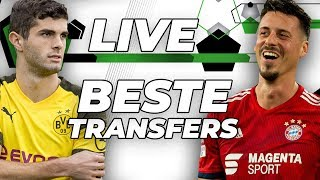 LIVE 🔴   Beste Transfers des Winters!
