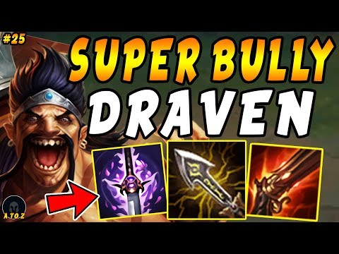 """NEW Super Bully Draven With Youmuus + Rapid Fire + Infinity Edge = OP 