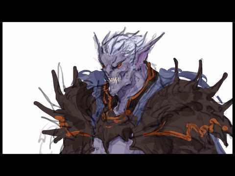 [그리다] 판타지를 그리다 - 데몬나이트 [Grida] Demon knight