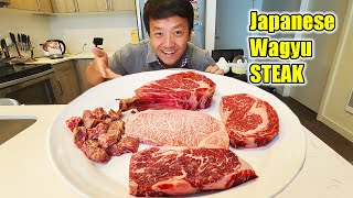 Trying Japanese A5 WAGYU STEAK DELIVERY & My Depression (Story Time)