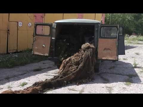 На берегу Припяти мозырские инспекторы обнаружили тайник с рыбацкими сетями