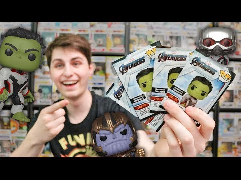 Funko Pop Avengers Endgame Pack Opening and Unboxing