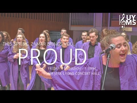 Zamar: Proud – UoY Music Society Lunchtime Concert 09-03-2018