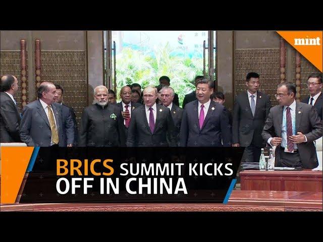 Brics Summit kicks off in China