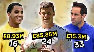 Repeat youtube video The Most Expensive Footballers Of Every Age (14-40)