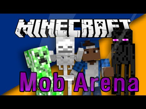 Mob Arena Plugin | How To Setup | Minecraft