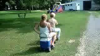 Motorized Cooler! Cruizin' Cooler Hilarious