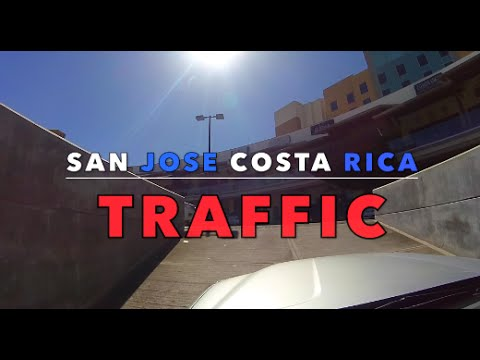San Jose Costa Rica Drive to the Airport - YouTube