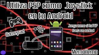 Utilizar PSP como Mando Joystick en Android | FusaGamepad |