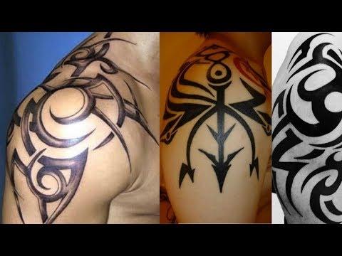 Tribal Tattoo on Shoulder Ideas