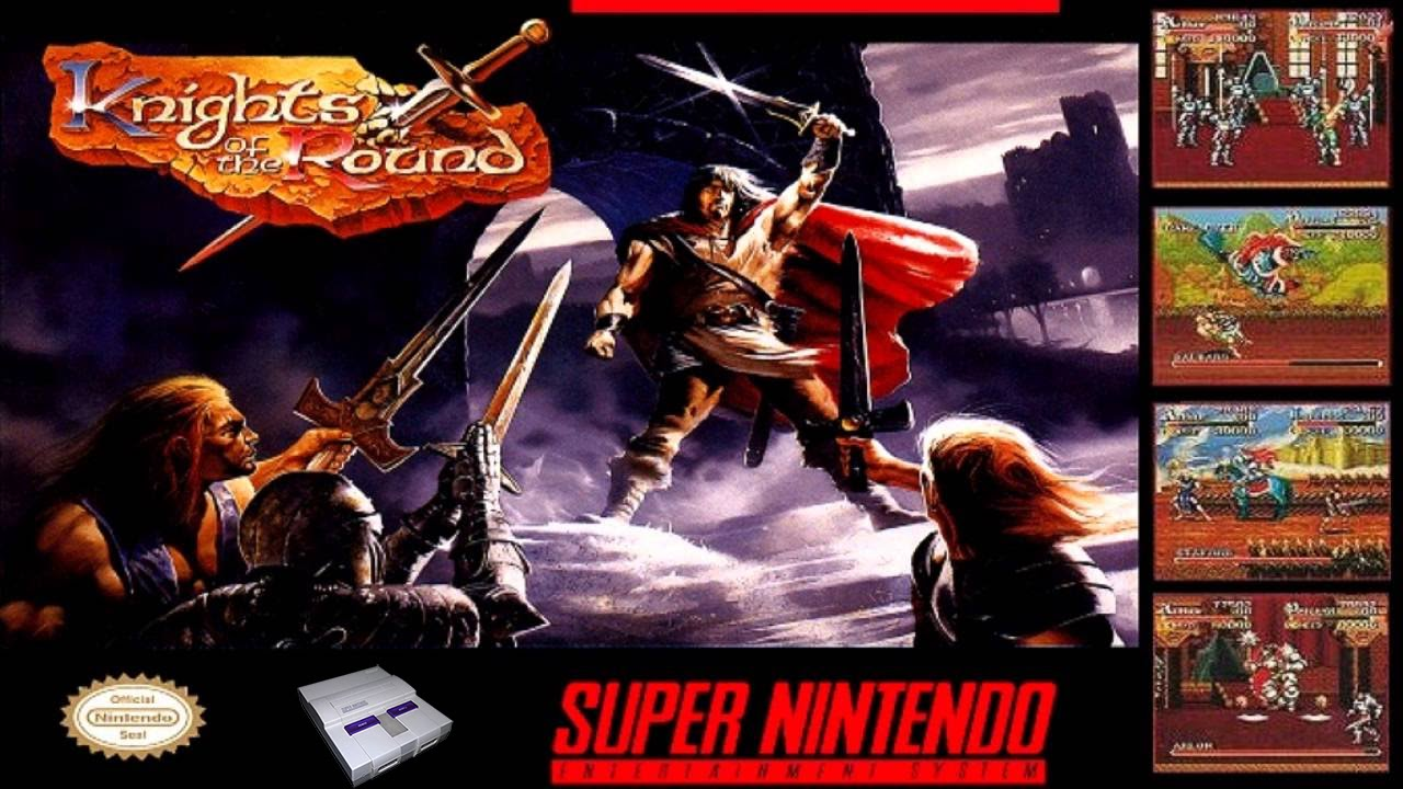 Knights Of The Round Table Wiki Knights Of The Round Playthrough Snes Youtube
