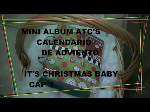 Mini álbum ATCS calendario de adviento | IT