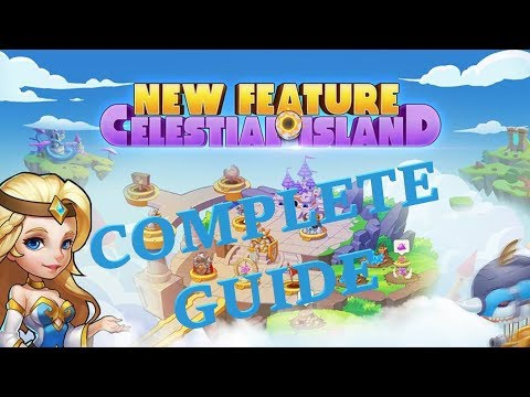 Idle Heroes: COMPLETE Celestial Island Guide