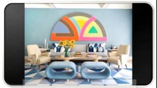 Stylish Blue Modern Furniture