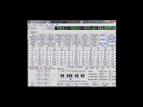 Improvisation del Omb HD - One Man Band Music Software