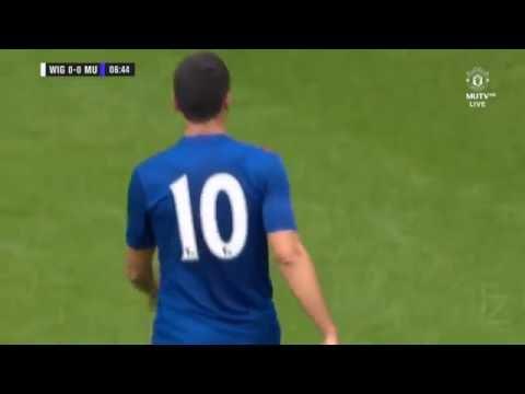 Дебют Генриха Мхитаряна • Манчестер Юнайтед — Уиган • 16 07 16