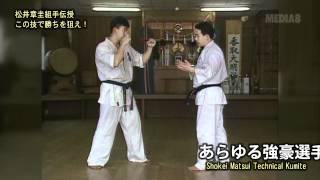 Shokei Matsui Technical Kumite.