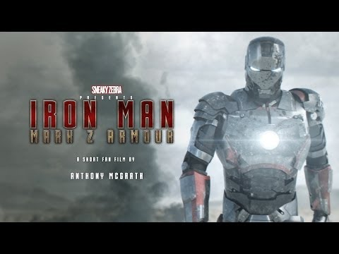 Iron Man MkZ ( Original animation by Anthony McGrath )